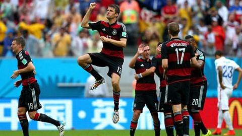 Mỹ 0-1 Đức: Dắt tay nhau đi tiếp