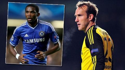 Chelsea xác nhận chia tay Eto'o, gia hạn với Schwarzer