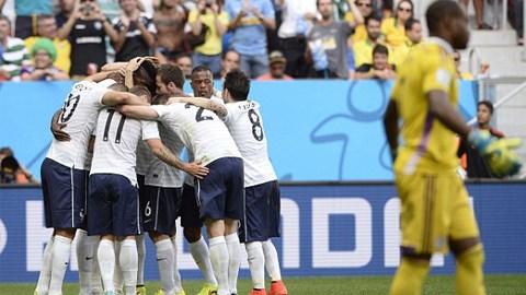 Pháp 2-0 Nigeria: Pogba giải cứu người Pháp