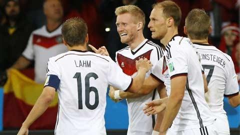 Đức 2-1 Algeria: Chiến thắng nhọc nhằn
