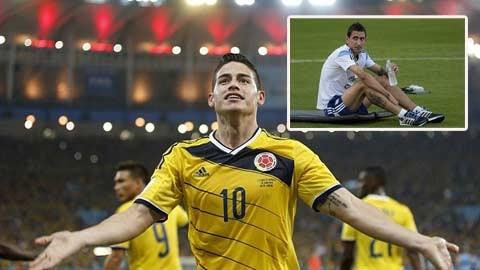 James Rodriguez sẽ sớm gia nhập đội bóng yêu thích Real Madrid?