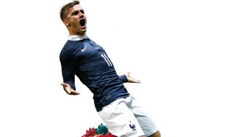 Sau khi vào sân, Griezmann đã giúp Pháp chơi khởi sắc