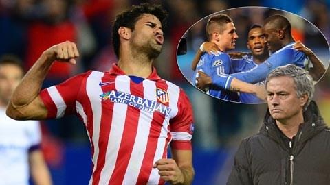 Một mình Diego Costa đã hiệu quả hơn cả 3 chân sút nổi tiếng của Chelsea