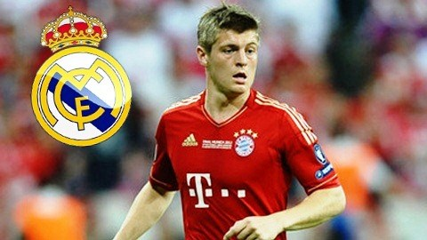Toni Kroos sắp cập bến Real