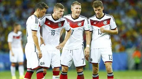 Những thành viên của Bayern vẫn đang là xương sống ở ĐTQG