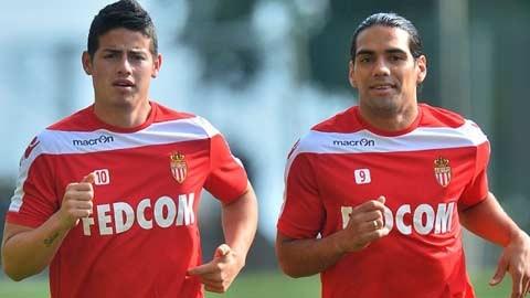 Monaco không bán James Rodriguez và Radamel Falcao?