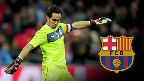 Claudio Bravo đã là người của Barca