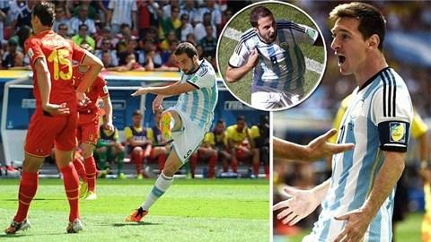 Argentina 1-0 Bỉ: Higuain đưa Albiceleste vào bán kết