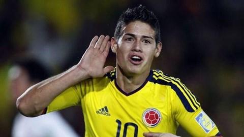 James Rodriguez là hiện tượng ngôi sao ở World Cup 2014