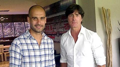 Pep Guardiola và Joachim Loew