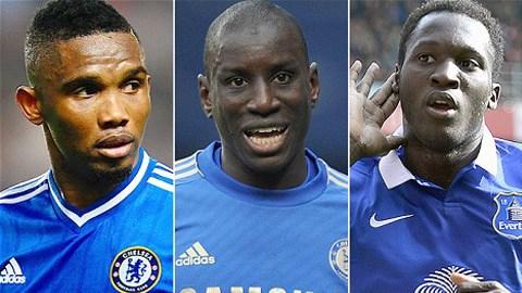 Eto'o, Ba và Lukaku không có chỗ đứng tại Chelsea