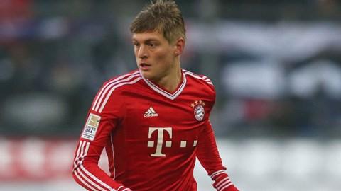 Toni Kroos sắp thuộc về Real Madrid