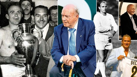 Không ngôi sao nào có tầm ảnh hưởng lớn như Di Stefano, cả trong đời thường lẫn bóng đá