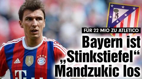 Mandzukic chỉ còn chờ thông báo chính thức từ Atletico
