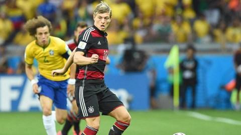Kroos xứng đáng là cầu thủ hay nhất trận