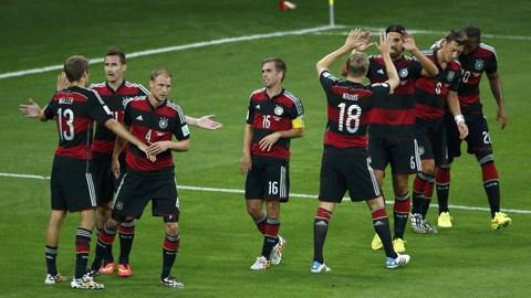Brazil 1-7 Đức: Chủ nhà thảm bại