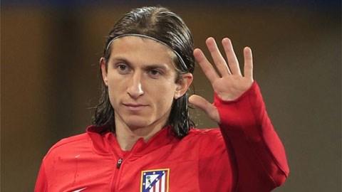 Filipe Luis giúp Atletico thu về được 20 triệu bảng từ Chelsea