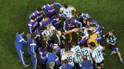 Argentina có chiến thắng sau những loạt đấu súng