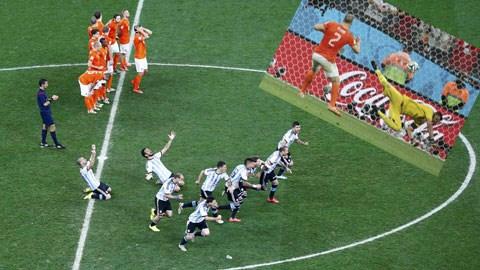 Dù không được đánh giá quá cao nhưng Hà Lan vẫn làm nên những chiến công ấn tượng tại Brazil 2014