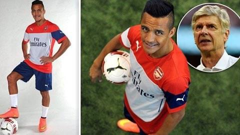Wenger sẽ bố trí Sanchez chơi như thế nào?