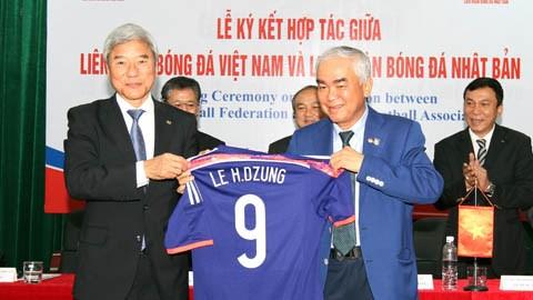 JFA sẽ cử một Giám đốc kỹ thuật sang Việt Nam theo đề nghị của VFF - Ảnh: Đức Cường