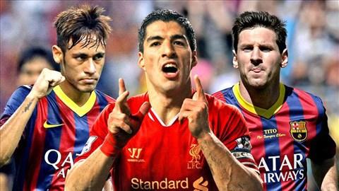 Luis Suarez sẽ làm nên bộ ba