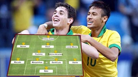 Đội hình Brazil mơ ước của Pele cho World Cup 2018