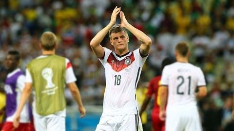 Toni Kroos xứng đáng giành Quả bóng vàng World Cup