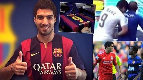 Suarez chính thức gia nhập Barca