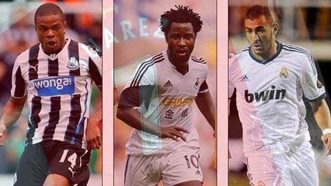 Remy, Bony và Benzema, những mục tiêu của Liverpool