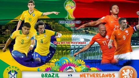 Brazil vs Hà Lan