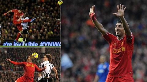 Suarez có nhiều bàn thắng rất ấn tượng khi còn khoác áo Liverpool