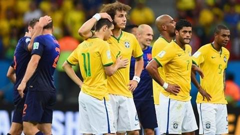 Brazil 0-3 Hà Lan: Samba lạc nhịp