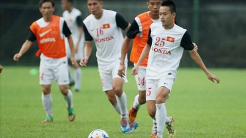 Các cầu thủ U23 như Huy Toàn (25) của SHB.ĐN từng được triệu tập vào ĐTQG để thử lửa