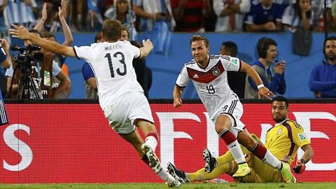 Đức 1-0 Argentina: Đức lần thứ 4 lên đỉnh thế giới