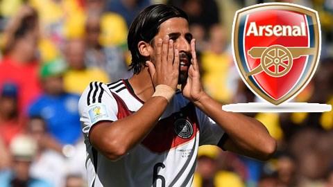 Khedira sẽ gia nhập Arsenal