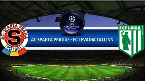 Sparta Prague vs Levadia Tallinn