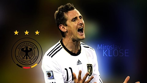 Kỷ lục gia World Cup - Miroslav Klose