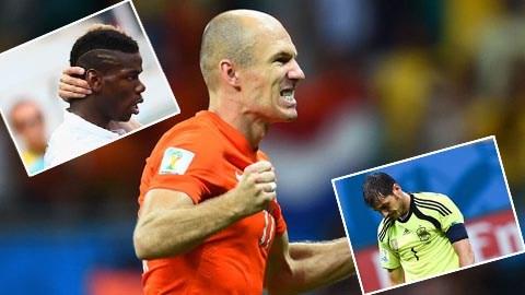 Robben đã có một kỳ World Cup thành công về mặt cá nhân