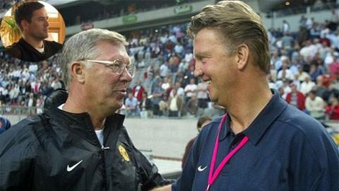Theo Owen, Van Gaal sẽ thay thế xứng đáng vị trí của Sir Alex tại M.U