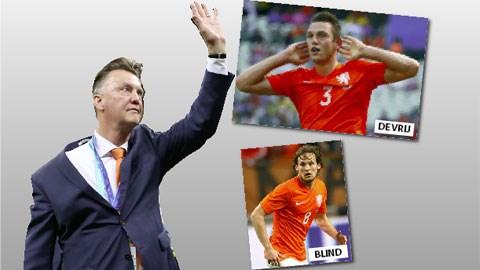 """HLV Van Gaal sẽ đưa những De Vrij hay Blind về Man United để phục vụ cho kế hoạch """"Hà Lan hóa"""" của mình"""