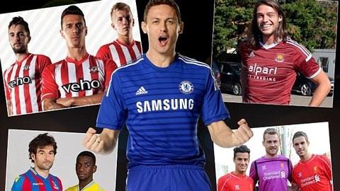 Các đội bóng Premier League hầu hết đã có trang phục mới