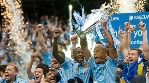 Man City đang là các nhà ĐKVĐ Premier League