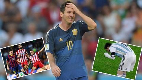 Gần một năm qua Messi không hề được nếm trài cảm giác bình yên
