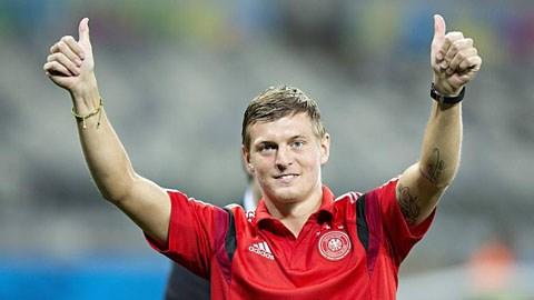 Không dễ gì để có được tiền vệ với giá 25 triệu euro như Kroos