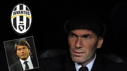Zidane có thể sẽ là HLV trưởng Juventus