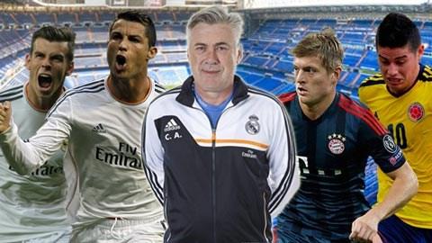 Ancelotti đang quá thừa tiền vệ