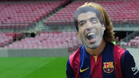Barca có thể dùng Luis Suarez giả cho lễ ra mắt