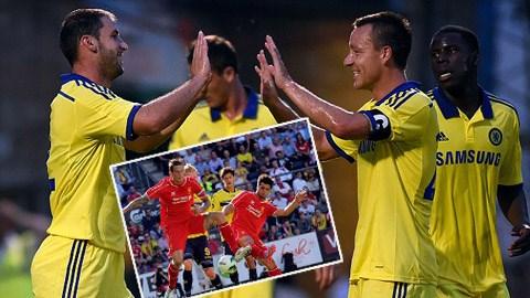 Chelsea và Liverpool có những cú làm nóng khởi động mùa giải khác nhau