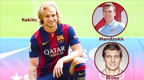 Trong khi Atletico và Barca tuyển quân ồ ạt thì Real chỉ có mình tân binh Kroos
